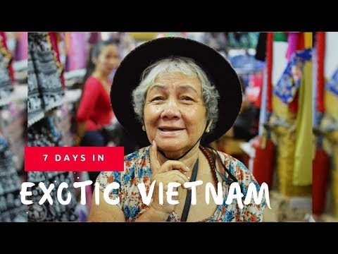 7 days in exotic Vietnam | Dalat | Ha Long Bay | Nha Trang | Ho Chih Minh | Hanoi