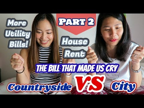 City VS Countryside: The Bill That Made Us Cry   House Rent and Bills   Part 2