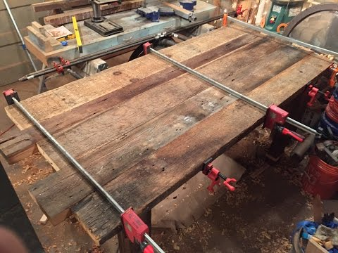 Reclaimed Wood Dining Table (