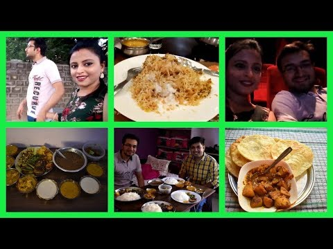 Birthday celebration 2018   lots of food   Movie date   Restaurant   Guest