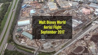 Aerial Flight over Toy Story Land, Star Wars Land, Disney Springs, and more | September 2017