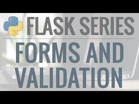 Python Flask Tutorial: Full-Featured Web App Part 3 - Form and User Input