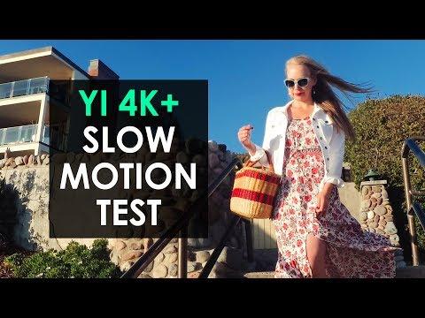 YI 4K Plus Slow Motion Test — YI 4k+ 60fps Action Camera
