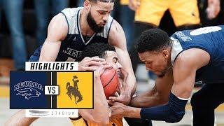 No. 7 Nevada vs. Wyoming Basketball Highlights (2018-19) | Stadium