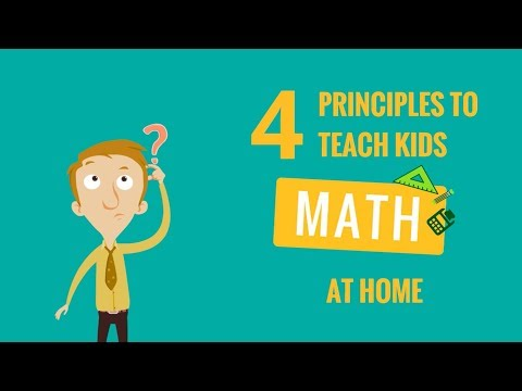 4 principles to teach kids Math at home