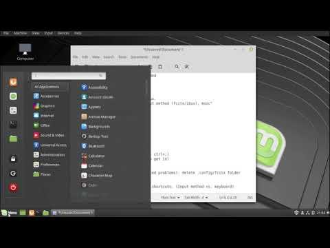 LinuxMint 19, japanese input, fcitx-mozc setup