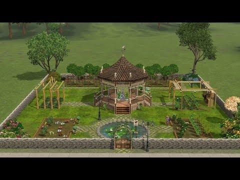 Sims 3 - Walkthrough - Peaceful Gardens