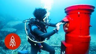 Japan's Post Box Under the Sea