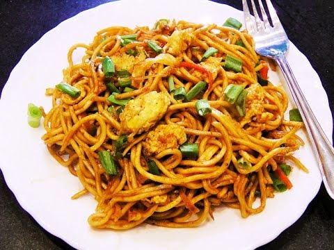 Vegetable Noodles | Quick Noodles recipe perfect for lunch, brunch or dinner