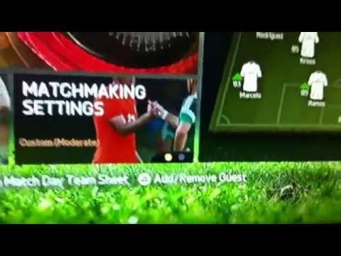 How to play multiplayer online on FIFA 15
