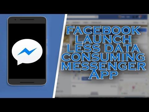 Messenger Lite - Facebook launch less data consuming messenger App