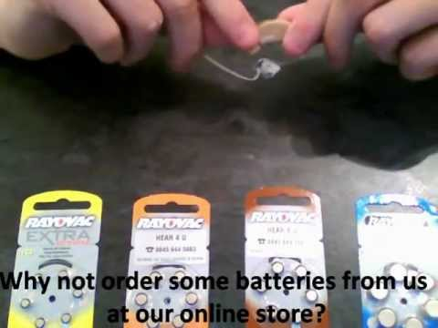 Changing A Hearing Aid Battery