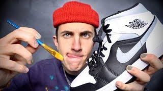 Customizing Jordan 1!👟🎨For Lil Yachty!!