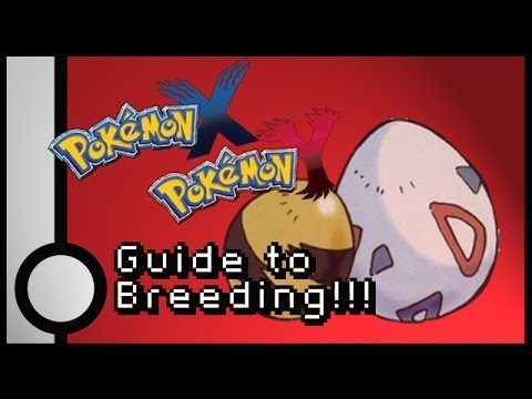 Pokemon X & Y Breeding Guide - Tadpole Million