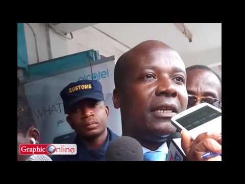 Ghana Revenue Authority shuts Phone Shops