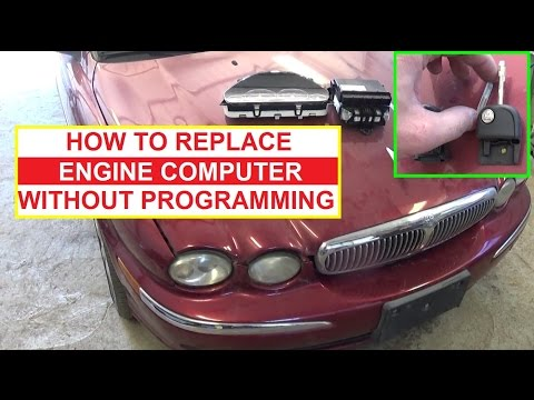 How to Replace the ECU Car Computer without Programming it Jaguar X TYPE 2001 2009