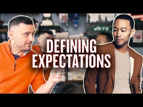 How to Set Expectations for Yourself | #AskGaryVee with John Legend