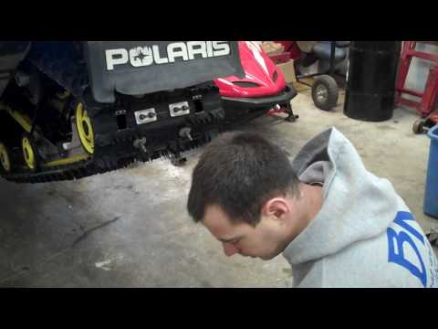 How to Change Your Hyfax on Your Snowmobile.
