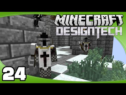 DesignTech - Ep. 24: Custom NPCs! | Minecraft Custom Modpack Let's Play