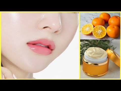 Permanent Skin Whitening Orange Face Cream | For Fair, Spotless and Glowing Skin Naturally.