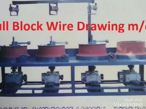 Wire drawing process  +919601253556