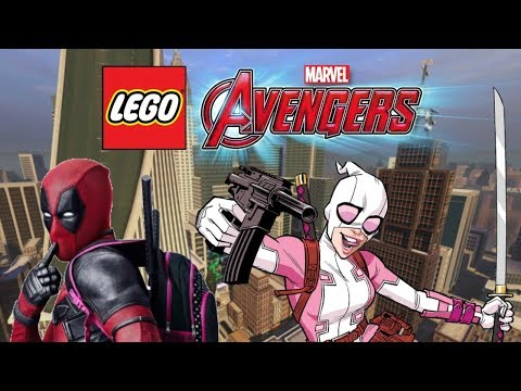 Creating GWENPOOL and DEADPOOL! | LEGO Marvel's Avengers Customs