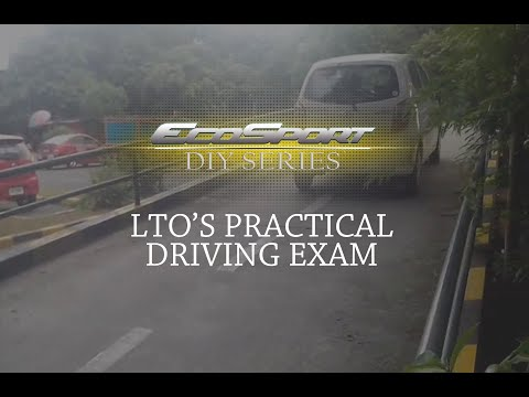 LTO PRACTICAL DRIVING TEST
