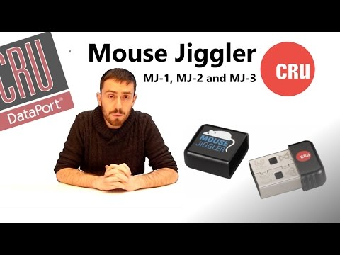 The CRU Mouse Jiggler MJ-1, MJ-2 and MJ-3  Walkthough and Talkthrough