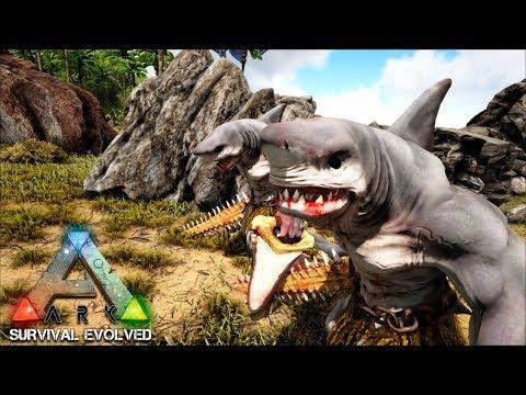 ARK Survival Evolved 43 - Tubarão Guerreiro!!! (GAMEPLAY PT-BR)