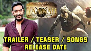 Tanhaji : The Unsung Warrior Trailer, Teaser & Songs Release Date, Ajay Devgn, Kajol, Saif Ali Khan