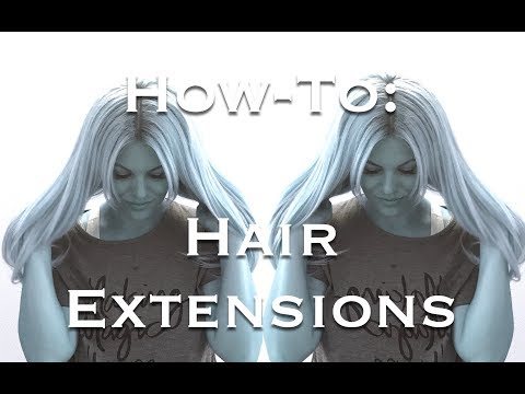 How to Apply Hair Extensions, honest review of Estelle's Secret
