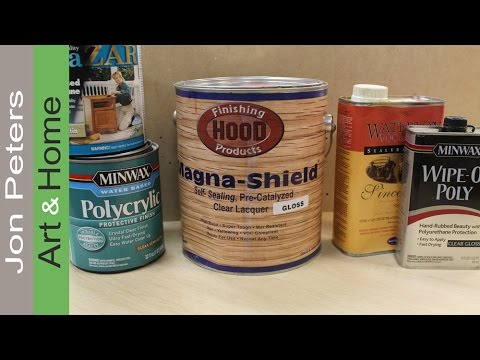The Best Wood Finishing Products - Review
