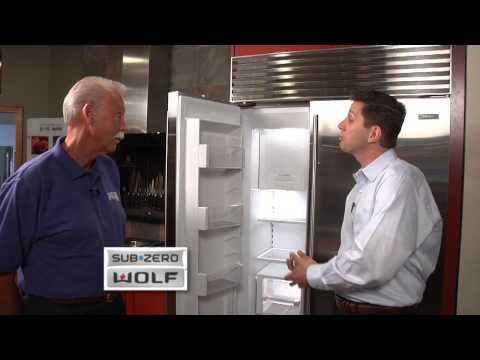 Builders Source Appliance Gallery Sub-Zero Refrigerator