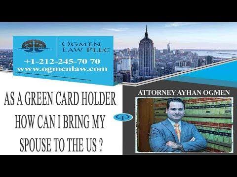 As a Green card holder how can I bring my spouse to the U.S.? Should I apply for an immigrant visa?