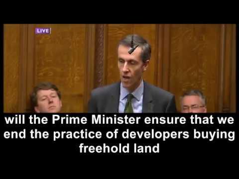 #LeaseholdScandal - Andrew Selous MP - PMQs - 01/03/2017