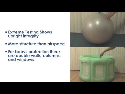 Room to Grow Play Yard, Bathinet Video Review and Demonstration