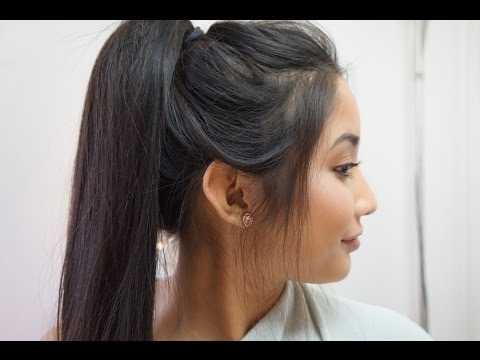 Effortless Ponytail Hair Tutorial | Alegria Jimenez