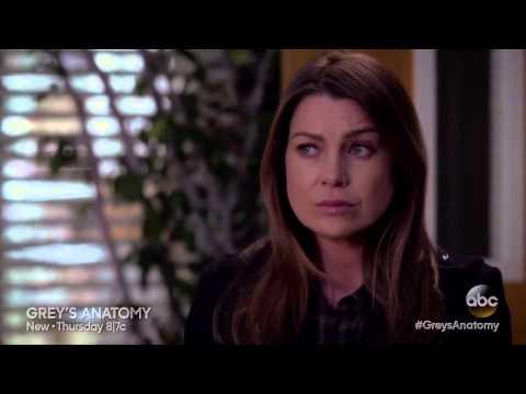 Meredith breaks the news about Derek's death