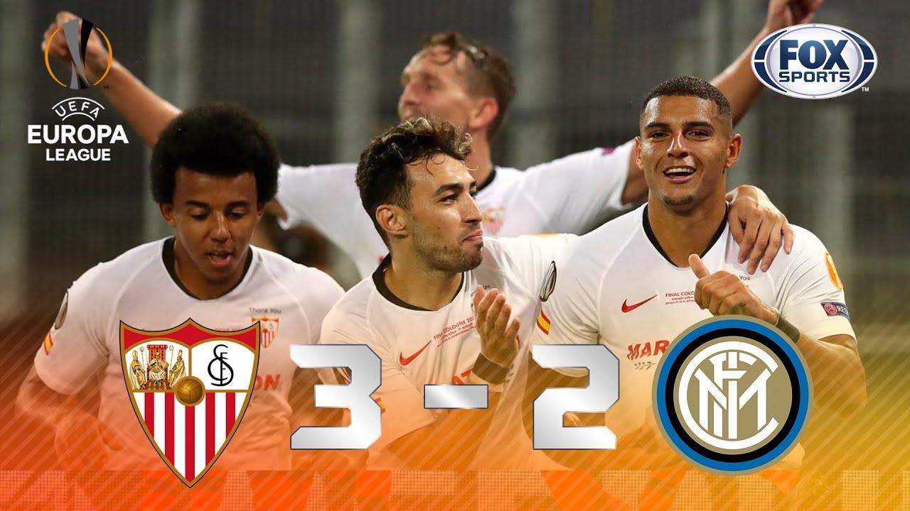 Sevilla - Inter [3-2] | GOLES | Final | UEFA Europa League