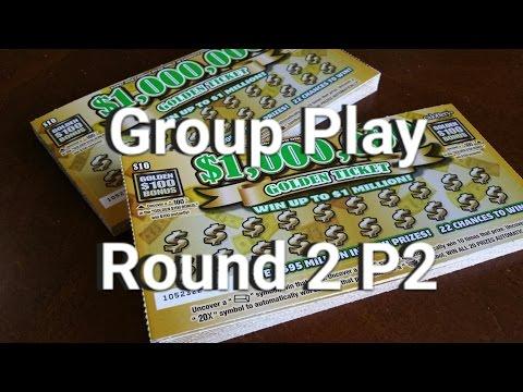 $10 Golden Ticket Group Play Round 2 P2