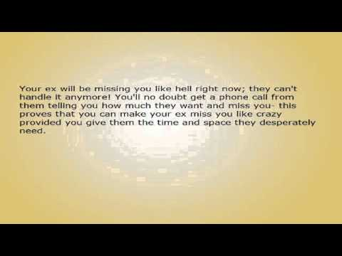 Make Your Ex Miss You Like Crazy - Just Say Nothing.avi