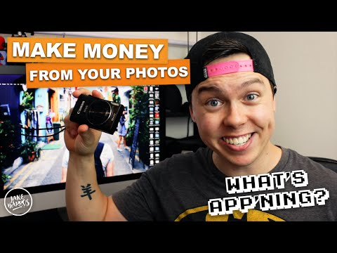 MAKE MONEY FROM YOUR PHOTOS (What's App'ning?)