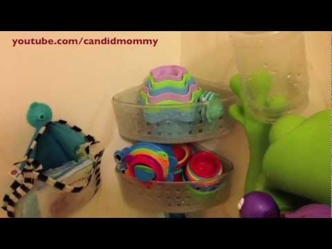 Bath Toy Cleaning & Organization