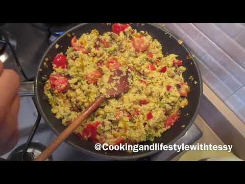 Vegetable Couscous Recipe| How To Make Couscous