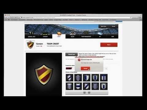 How to create a FIFA 14 Creation centre team!!!!