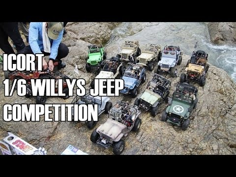 [ICORT] WILLYS JEEP OFFROAD COMPETITION - ICORT TRAIL RC CAR FESTIVAL