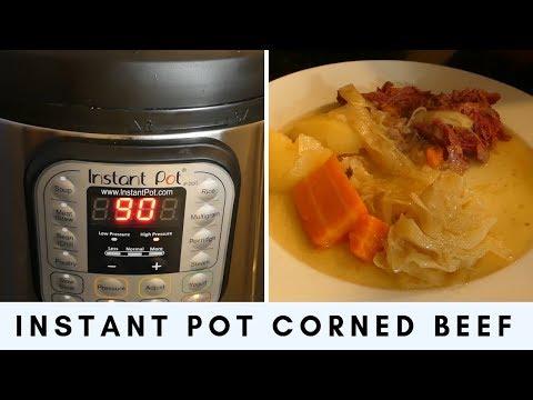 Instant Pot Corn Beef & Cabbage