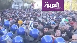 تظاهرات الجزائر.. كيف وصلت إلى مواقع التواصل