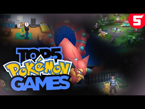 Top 5 New Pokemon Games For Android (2018) (Updated Download Links)