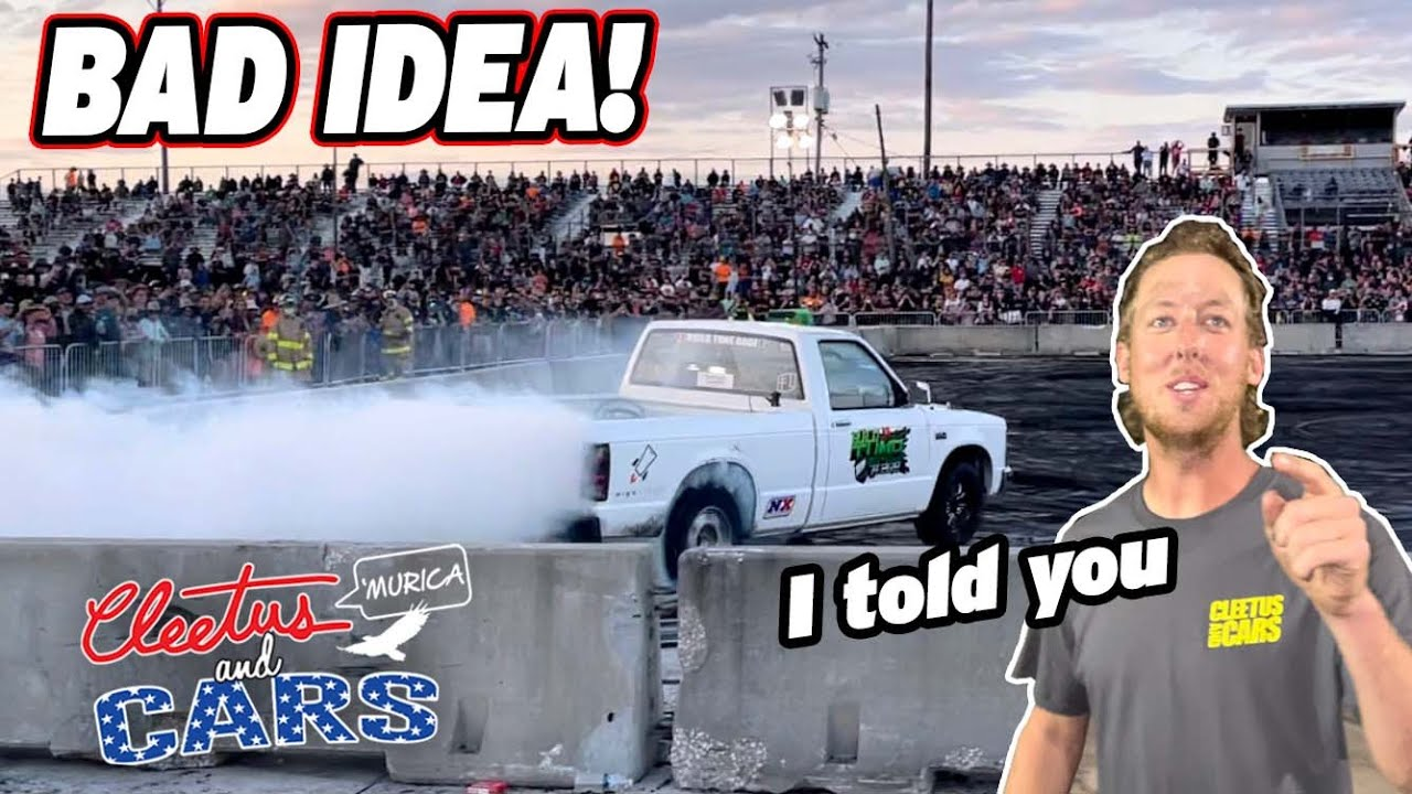 Broke Burnie The Burnout Truck BAD At Cleetus and Cars! I Didn't Listen to Cleet...